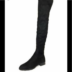 Zara Women Flat over-the-knee boots size 6